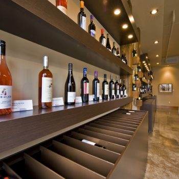 Wine is organized by style